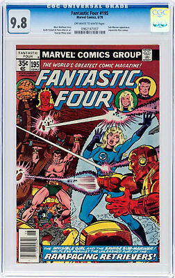 Fantastic Four #195 (Jun 1978, Marvel) CGC 9.8