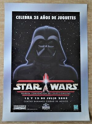Star Wars First Collector's Convention Mexico July 2003 Celebrates 25 Years Toys