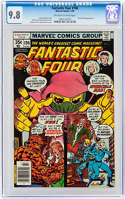 Fantastic Four #196 (Jul 1978, Marvel) CGC 9.8 Doctor Doom