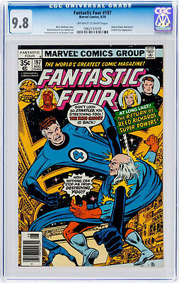 Fantastic Four #197 (Aug 1978, Marvel) CGC 9.8 Doctor Doom