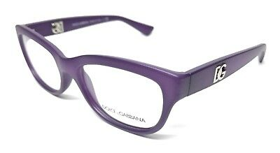 b503e607e54a New Dolce   Gabbana Dg 5011 2677 Matte Opal violet Eyeglasses Authentic  54-17