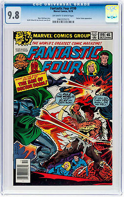 Fantastic Four #199 (Oct 1978, Marvel) CGC 9.8 Doctor Doom