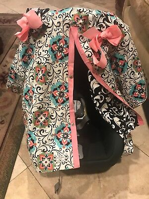 car seat cover baby girl