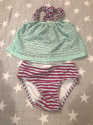 Toddler Girl Two Piece Bathing Suit 2t