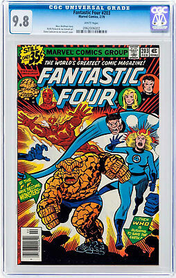 Fantastic Four #203 (Feb 1979, Marvel) CGC 9.8