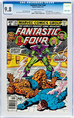 Fantastic Four #206 (May 1979, Marvel) CGC 9.8
