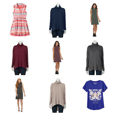 Wholesale Lot of Womens Juniors Clothing New With Tag Famous Brands $1,000 Lot 4