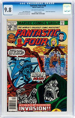 Fantastic Four #198 (Sep 1978, Marvel) CGC 9.8