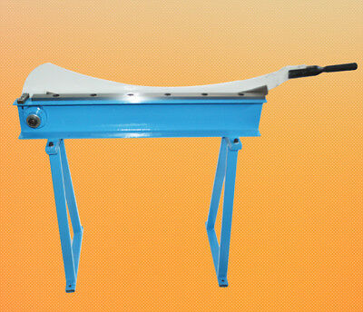 HS-800 Manual Guillotine Shear Metal Plate Cutting Shears With Stand Cutter