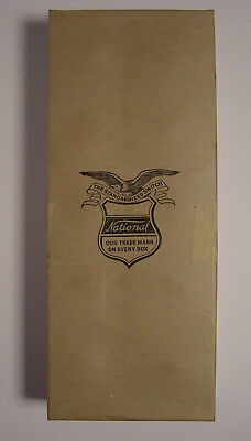 Standard Electric Manufacturing Co. National Switch Empty Box WWII Surplus Vtg