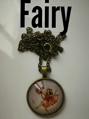 Code 341 Fairy feeling free infused n charged necklace Daughter Niece Mum Nan