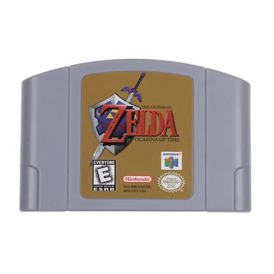 For Nintendo 64 N64 Game Cartridge Card - The Legend Of Zelda Ocarina of Time
