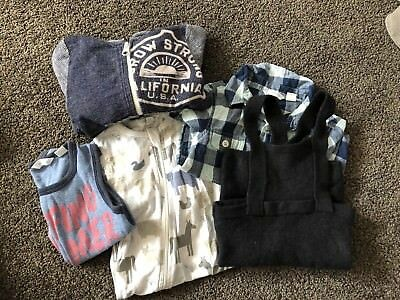 Country Road Boy Bundle 00 And 0 3-6 6-12 Incl Overalls