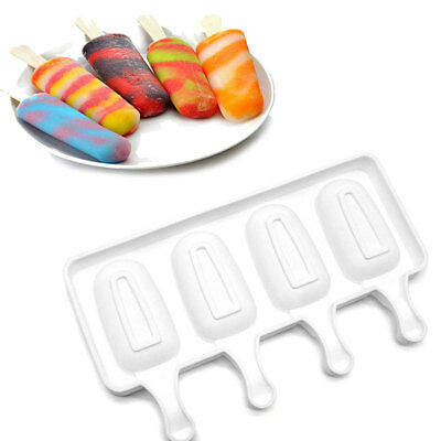 Silicone Sticks Tray Ice Froze Ice Cream Mold Ice Lolly Molds Ice Cube Makers FH