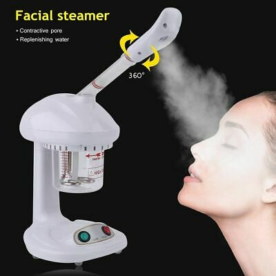 Mini Facial Steamer Portable OZone Spa Salon Face Sauna Skin Care Steam Machine