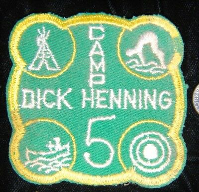 Camp Dick Henning Vintage late 50s