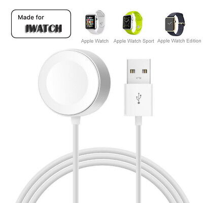 1M Magnetic Charger Charging Cable for iWatch 42/38mm Apple Watch Series 1 2 3