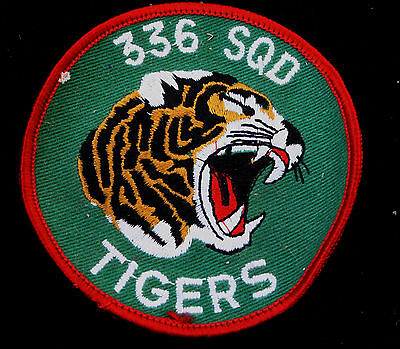 336th FIGHTER SQUADRON TIGERS HAT PATCH NATO Royal Norwegian Air Force TIGER