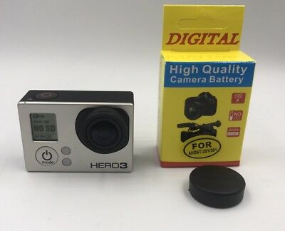 Gopro Hero 3 Black Edition Wi-fi High Performance 12MP 30fps Camera *New Battery
