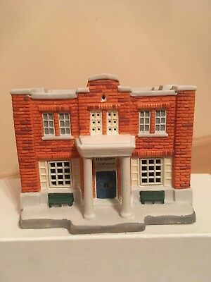 HawthorneVillage Welcome to Mayberry Andy Griffith Christmas Village Courthouse