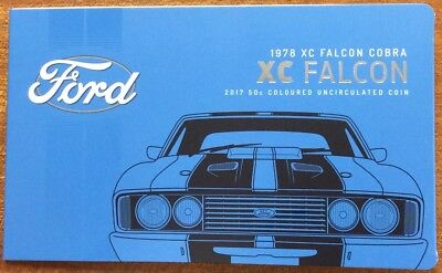 2017 RAM 50 cent UNC Coin Ford classics collection - XC falcon