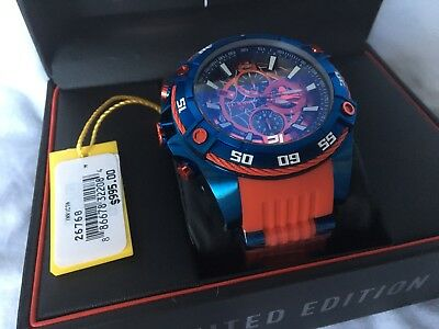 invicta marvel limited edition spider man mens watch
