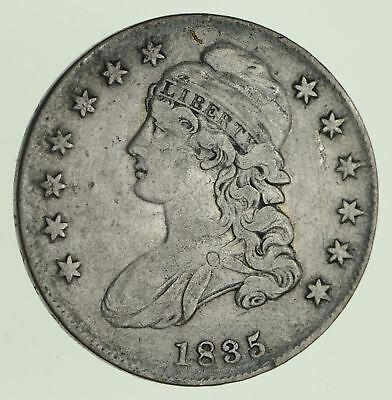 1835 Capped Bust Half Dollar - Circulated *9941