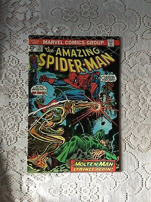 Marvel Comics Amazing Spiderman # 132 1974 VF-