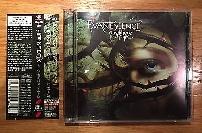 Evanescence - Anywhere But Home (Japan CD + DVD with OBI) Out Of Print - Jewel