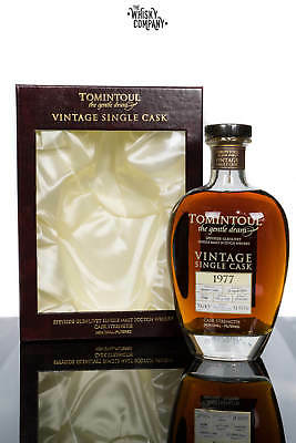 Tomintoul 38 Years Old 1977 Vintage Speyside Single Malt Scotch Whisky (700ml)