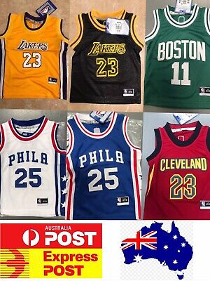 Smart Baby Basketball Jerseys , Celtics Irving, Cleveland, Phila, Lakers James