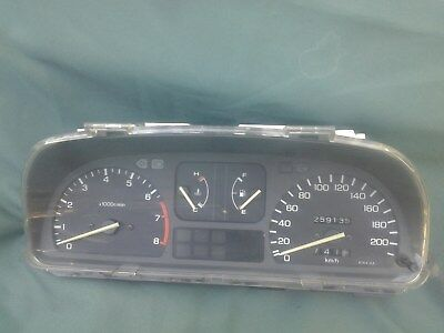 90-91 Honda Civic Wagon CRX dash Gauge Cluster Speedometer EF 200 km facelift