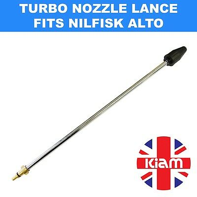 Rotary Turbo Nozzle 500mm Lance for Nilfisk Alto Pressure Washer - 2200 PSI