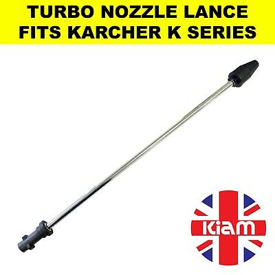 Rotary Turbo Nozzle 500mm Lance for Karcher K Series Pressure Washer - 2200 PSI