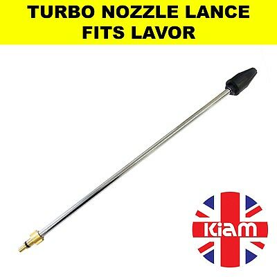 Rotary Turbo Nozzle 500mm Lance for Lavor Lavorwash Pressure Washer - 2200 PSI