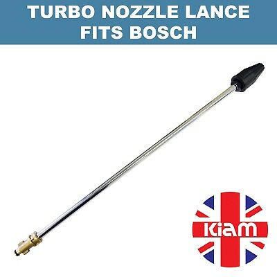 Rotary Turbo Nozzle 500mm Lance for Bosch Pressure Washer - 2200 PSI
