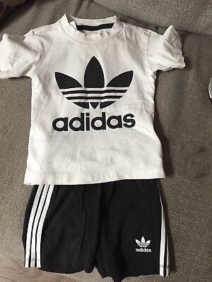 boys adidas shorts set