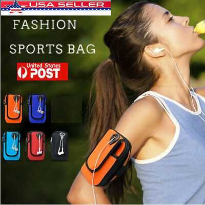 Sport Running Jogging Gym Arm Band Pouch Holder Armband Case Bag For Cell Phone
