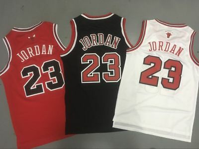 Men's Throwback Swingman Chicago Bulls MICHAEL JORDAN 23 Basketball Jersey