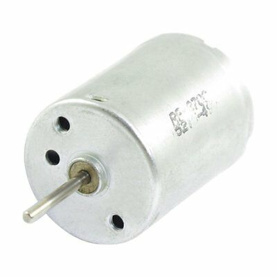 3X(DC 9V 6760RPM Rotary Speed 2 Pin 2P Terminals Electric Mini Motor L3T4