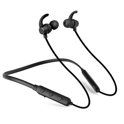 Bluetooth 4.1 Neckband Headphones Earphones with Mic Sports Gym Running Wireless