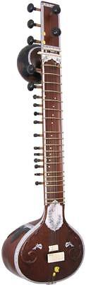 Atlas traditional Indian-made SITAR Double Gourd, authentic tone. From Hobgoblin