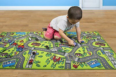 Kids Carpet Playmat Rug City Life Baby Floor Mat Toys Cars Rug Play Gym Toddlers