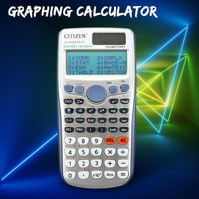 417 Function School Office Handheld Scientific Graphing Calculator 991ES PLUS