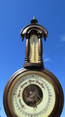 1960's Circa Wall Hanging Barometer/Thermometer Made in Western Germany Visible