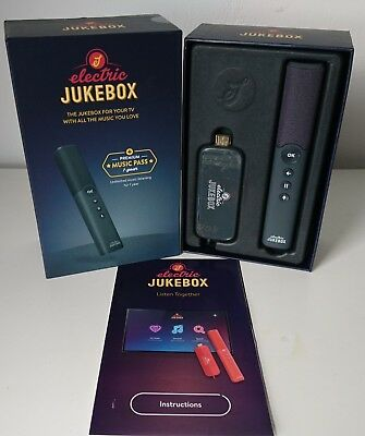 Electric Jukebox music system – includes millions of albums for your TV-New
