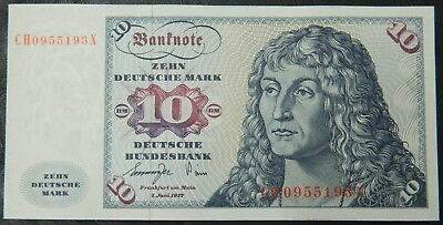 1977 Germany German 10 Mark aUNC