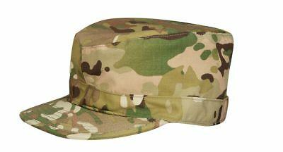 Us Army Multicam Nyco Patrol Ocp Acu Cap Hat Us Size 7 1/4 Size 58
