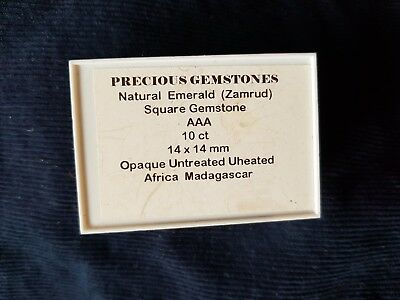 Precious Stones Natural Emerald (Zamrud) Untreated Africa See Pictures