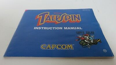 Disney's Talespin - NES manual only